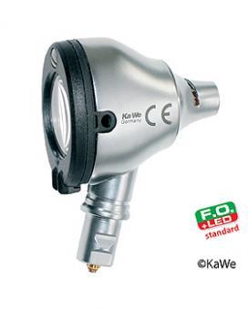 Otoskop-Kopf Eurolight F.O. 30 LED 2,5 V, inklusive Lampe