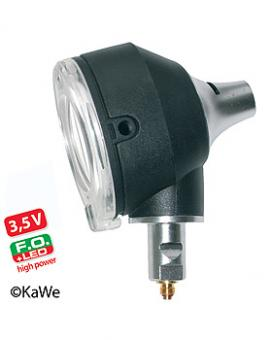Otoskop Kopf COMBILIGHT F.O. 30 LED 3,5V high power inklusive Lampe