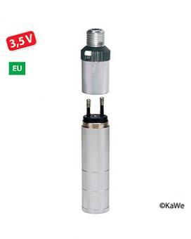 Otoskop Ladegriff C mit 3,5V/240V, mit Clic-Verrschluss für KaWe EUROLIGHT/COMBILIGHT