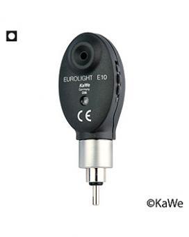 Ophthalmoskop-Kopf EUROLIGHT E 10, 2,5V, mit 1 Blende und Schraubgewinde
