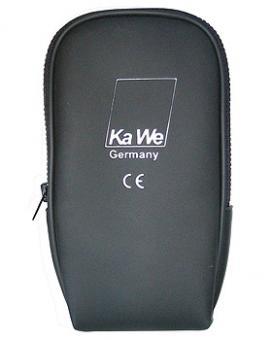 Reissverschlusstasche, schwarz, für KAWE-Otoskope