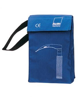 Notfalltasche blau, für 3 Laryngoskop- Spatel und 1 Griff