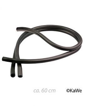 Doppelschlauch schwarz, 60 cm