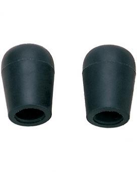 Ohroliven weich, innen d= 6,5 mm,schwarz, mit Kunststoff, 5 Stück