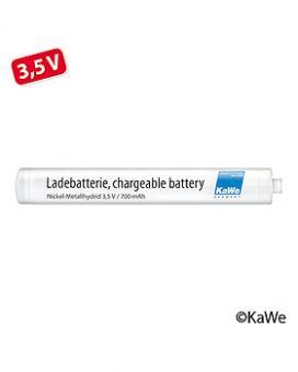 Ladebatterie, klein Nickel-Metallhydrid, 3,5 V (AA), (NiMH)