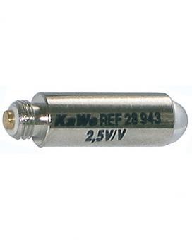 Vakuumbirne 2,5V - silber