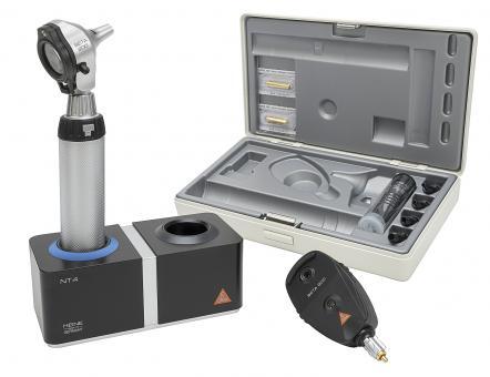 Diagnostik Set HEINE BETA 200 F.O. 3,5V, mit Ladegriff, Ladegerät, Tips