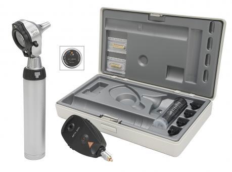 Diagnostik Set HEINE BETA 200 F.O. 3,5V, mit USB Ladegriff, Tips