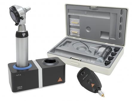 Diagnostik Set HEINE BETA 400 F.O. 3,5V mit Ladegriff, Ladegerät ohne Lasergravur