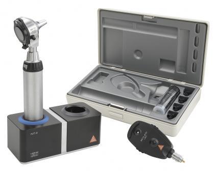 Diagnostik Set HEINE BETA 400 F.O. LED, mit Ladegriff, Ladegerät