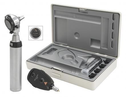 Diagnostik Set HEINE BETA 400 F.O. LED, mit USB Ladegriff, Kabel, Netzteil