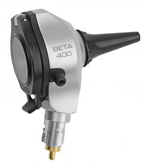 Otoskop-Kopf HEINE BETA 400 F.O. 3,5V, mit 4 Dauergebrauchs-Tips