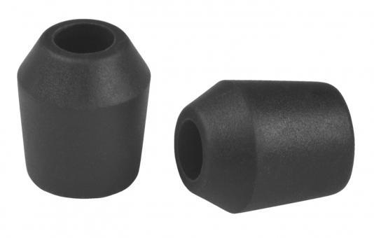 Soft Einweg-Tips 5mm, schwarz, 40 Stück