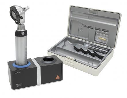 Otoskop HEINE BETA 200 F.O. 3,5V, mit Ladegriff, Tips, Ladegerät ohne Lasergravur
