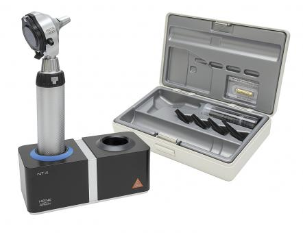 Otoskop HEINE BETA 400 F.O. 3,5V, mit Ladegriff, Ladegerät ohne Lasergravur
