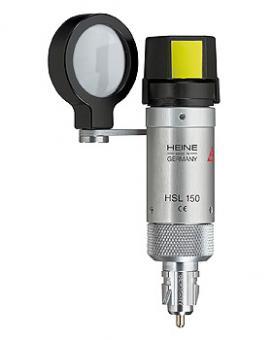 Handspaltlampen-Aufsatz HEINE HSL 150, 3,5V, für HEINE BETA Griffe