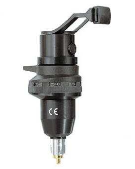 Retinometer-Kopfstück HEINE LAMBDA 100, 3,5V, mit Fraktionsskala 20/300 bis 20/25 (Skala 2)