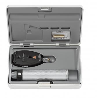 Ophthalmoskop HEINE BETA 200 S LED mit BETA 4 USB Ladegriff in Hartschalenetui