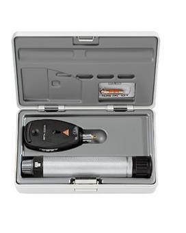 Ophthalmoskop HEINE BETA 200S, NT Ladegriff 3,5V, Ladegerät und Ersatzbirne im Hartschalenetui