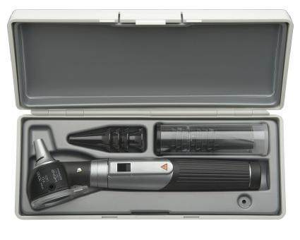 Otoskop HEINE mini 3000 LED F.O., 2,5V, mit Batteriegriff, Tips, Etui