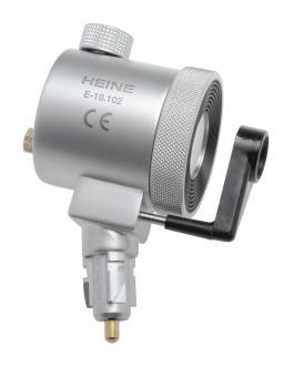 Anoskop- / Proktoskopkopfstück 3,5V kompl. mit Schwenklinse und Verschlussfenster