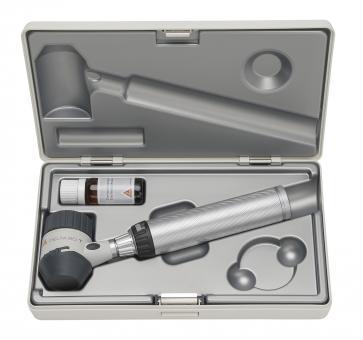 Dermatoskop HEINE DELTA 20 T LED, mit USB-Ladegriff, Kabel, Netzteil, Öl, Etui