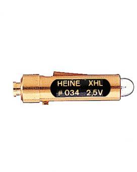 Halogen-Lampe HEINE XHL 2,5V, .034