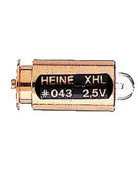 Halogen-Lampe HEINE XHL 2,5V, .043