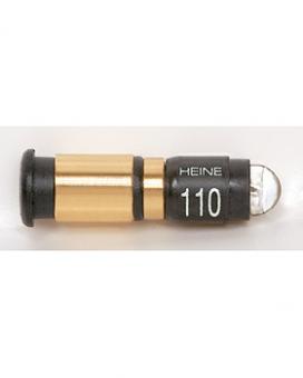 Xenon Halogen-Lampe HEINE XHL 2,5V, .110, für Otoskop HEINE mini 3000