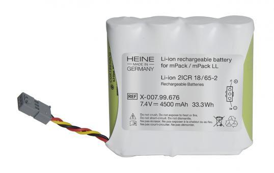 Li-ion Ladebatterie für mPack